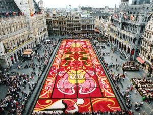 Flowers Carpets Bruselas